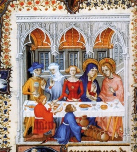 medieval wedding at cana