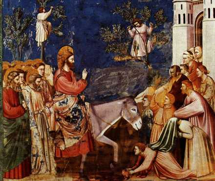 Giotto Palm Sunday