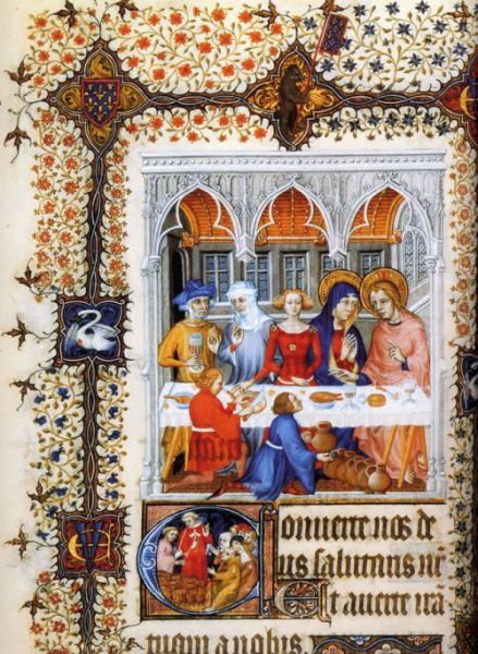 Wedding at Cana medieval