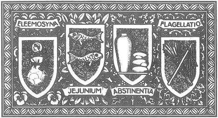 Lent line art