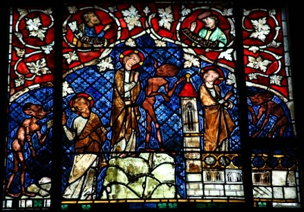 Strasbourg_Cathedral_-_Stained_glass_windows Temptation of Christ