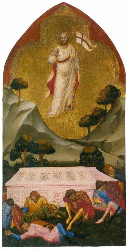 Resurrection - Jacopo da Cione