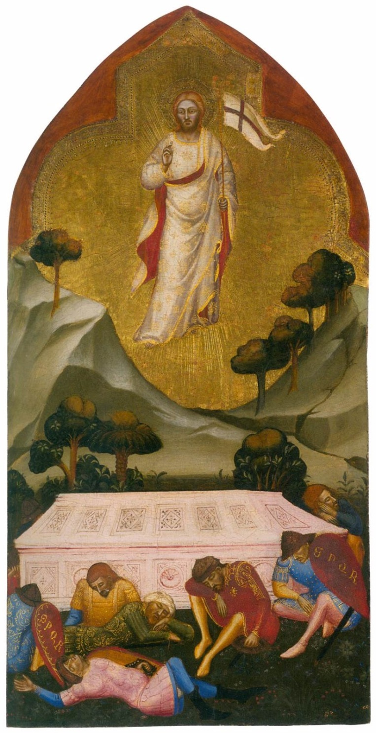 Resurrection - Jacopo da Cione