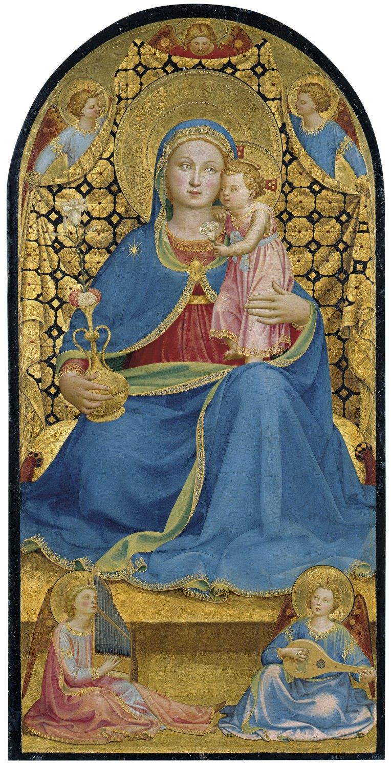 Virgin of Humility Fra Angelico