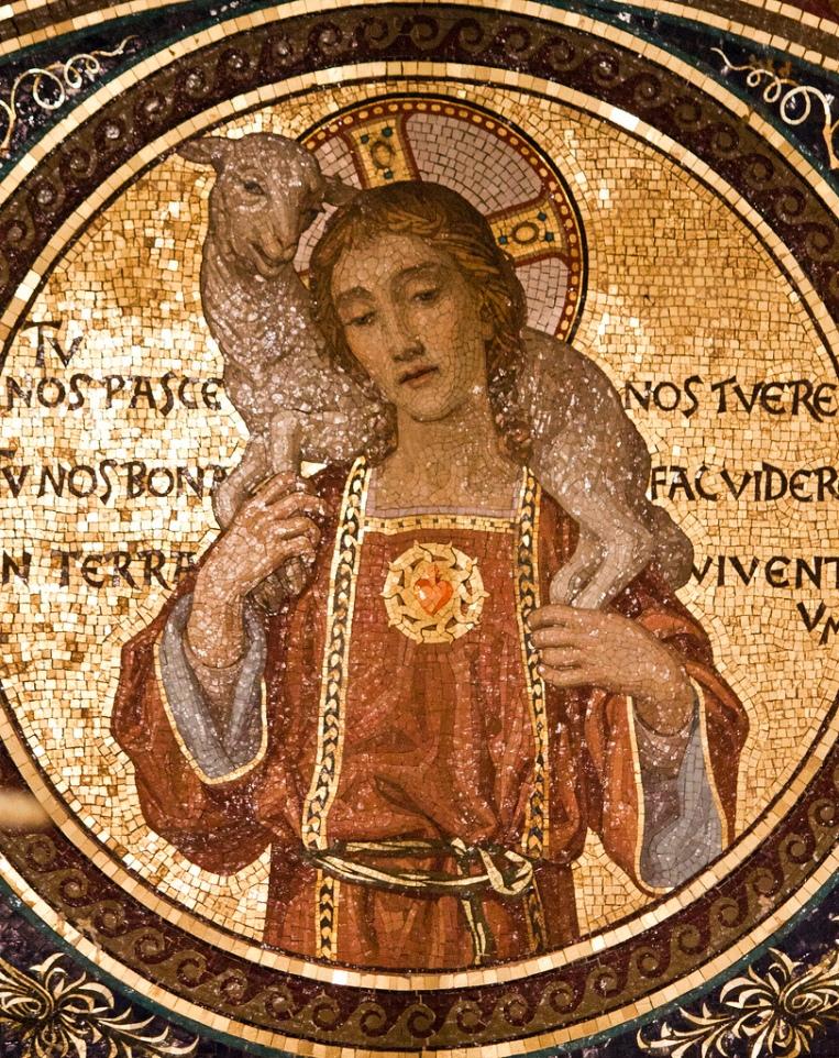 Good Shepherd beardless Sacred Heart