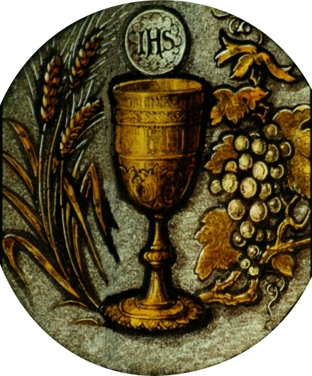 Chalice Host Wheat Grapes