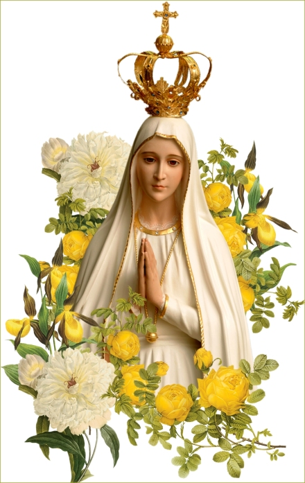Our Lady of Fatima - flowers