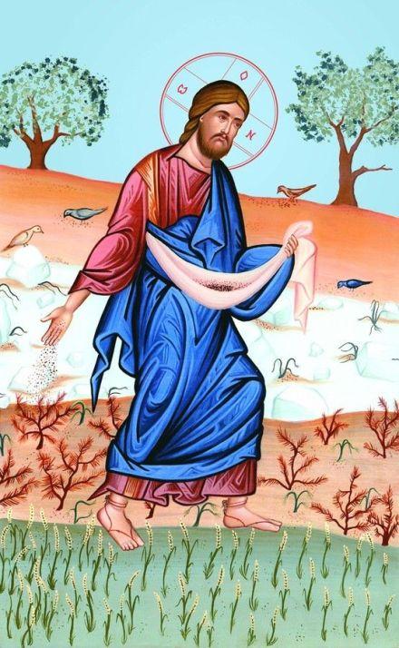 Jesus sowing seed 2