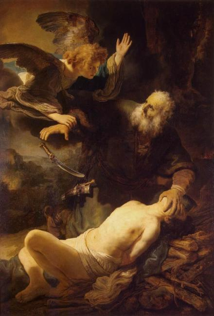 OT 13-4 rembrandt sacrifice of isaac
