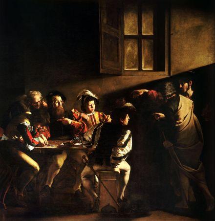 OT 13-5 Caravaggio Calling of Matthew