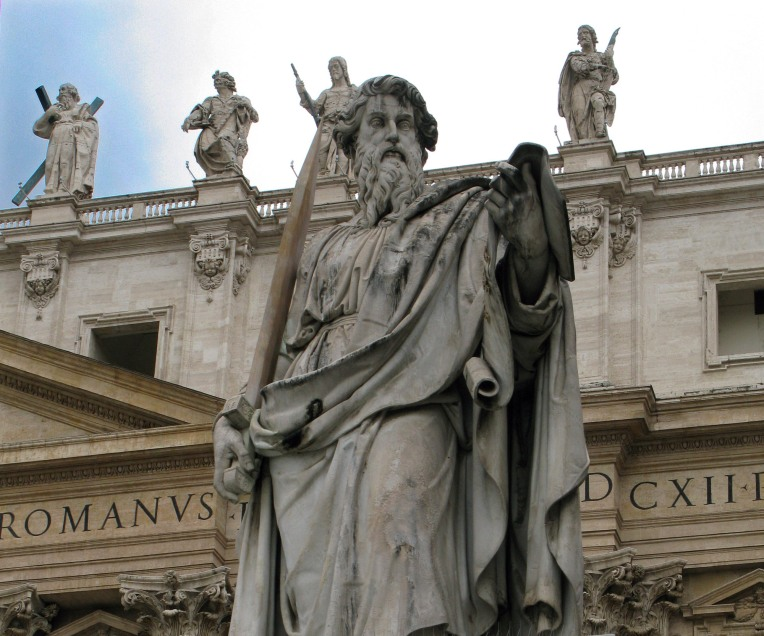 St. Paul statue at Vatican