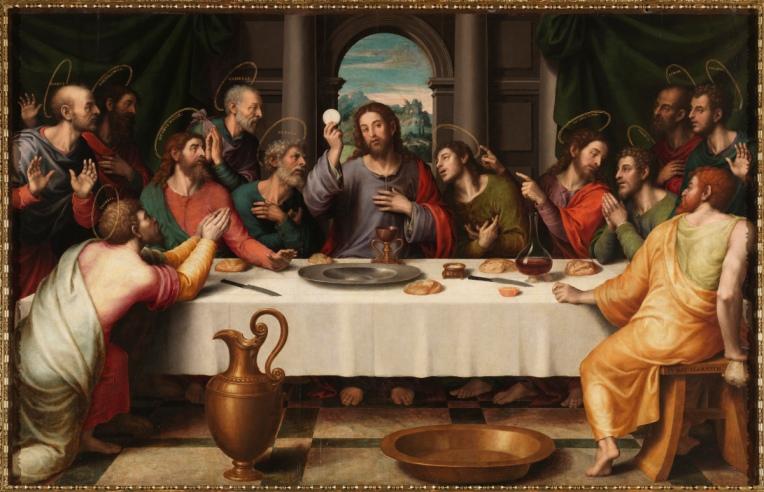 Last Supper - Juan de Juanes