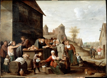 The_Seven_Corporal_Works_of_Mercy - Teniers,_David_the_younger