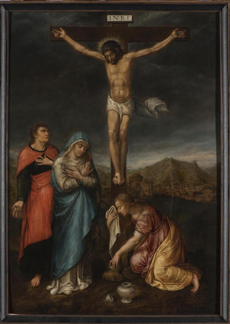 Crucifixion with 3