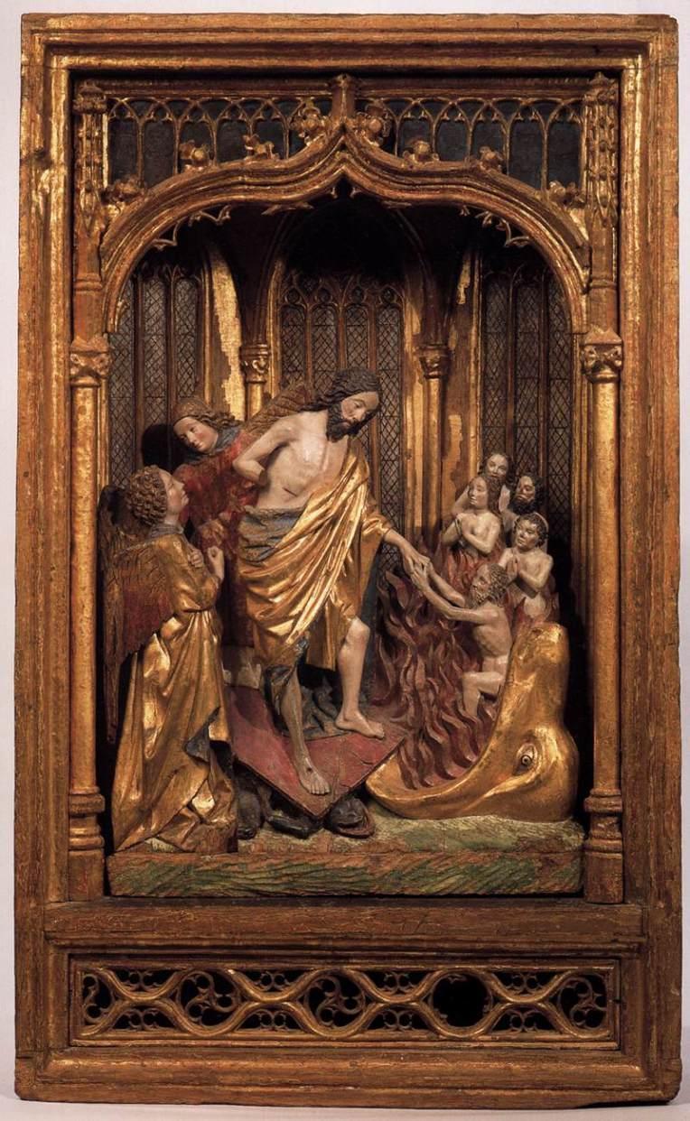 Harrowing of Hell woodcut