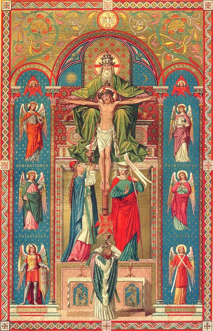 Holy Mass with Angels and Trinity