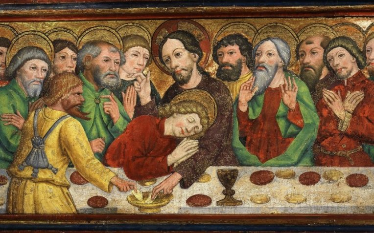 Judas at the Last Supper