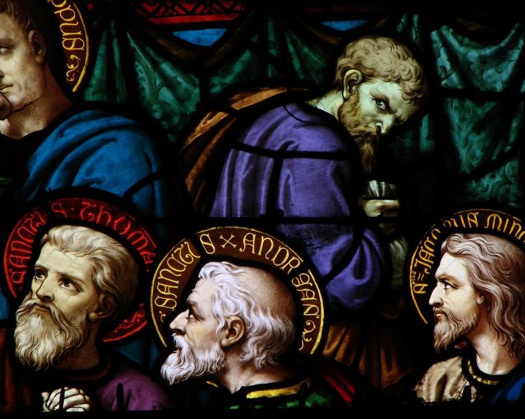 Judas - Vitrail Cathédrale de Moulins