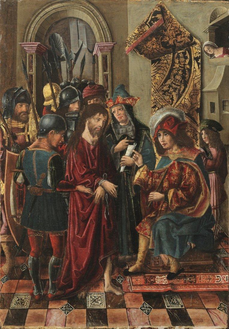Pilate questions Jesus 2