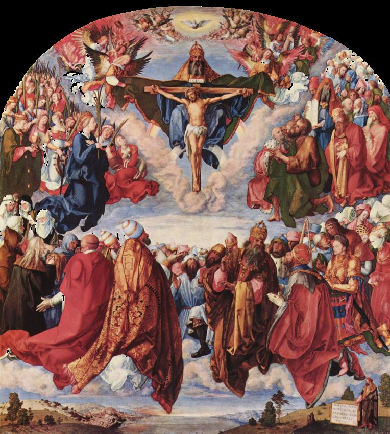 Trinity Crucifixion - Dürer