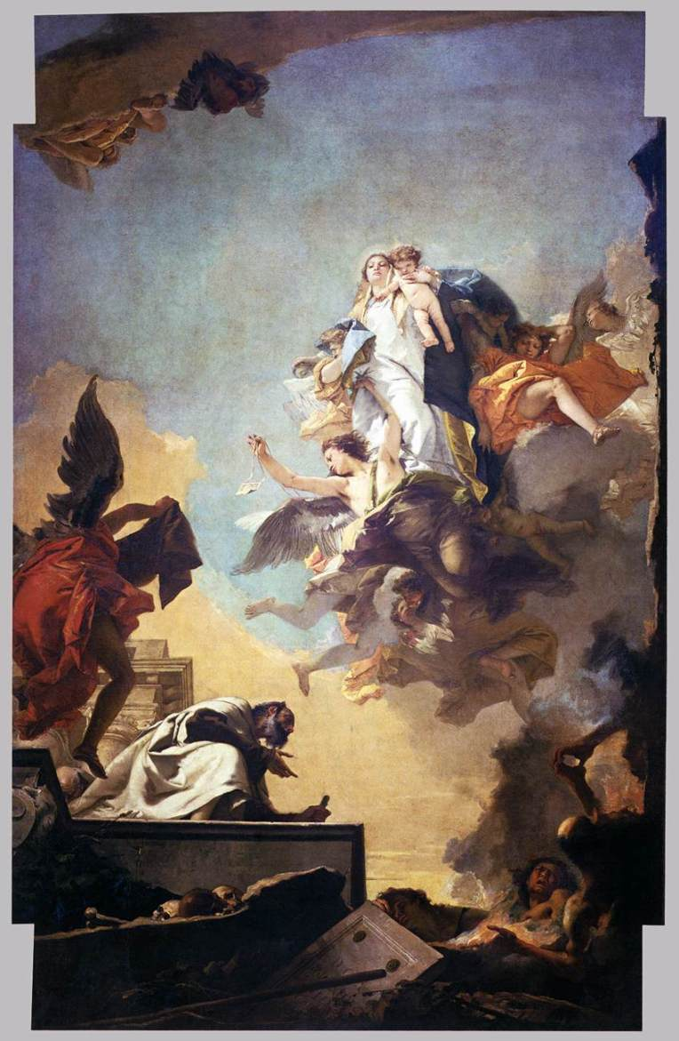 OLMC apparition-of-the-virgin-to-st-simon-stock-tiepolo-giovanni-battista