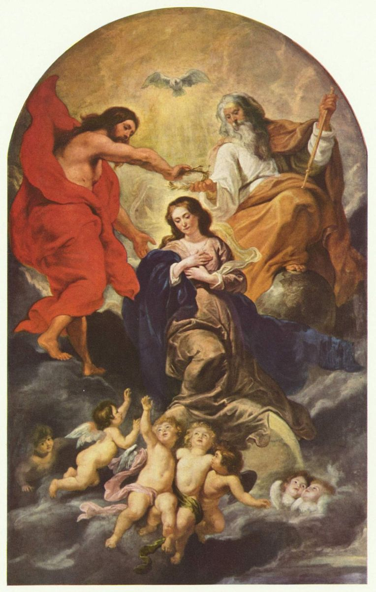 Coronation of Mary - Rubens