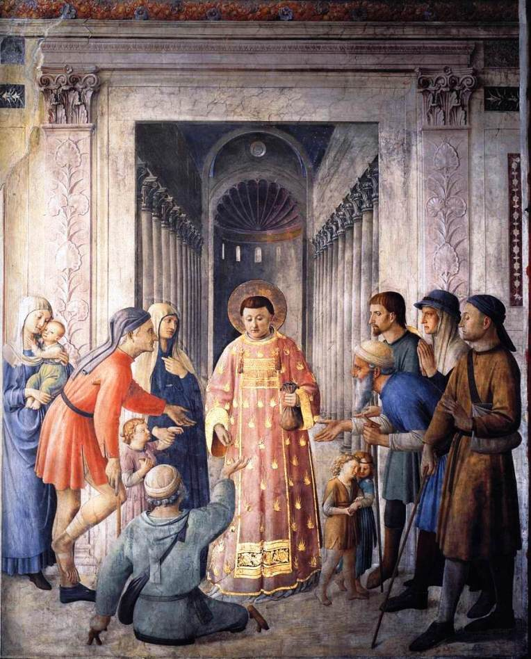 St. Lawrence - Fra Angelico