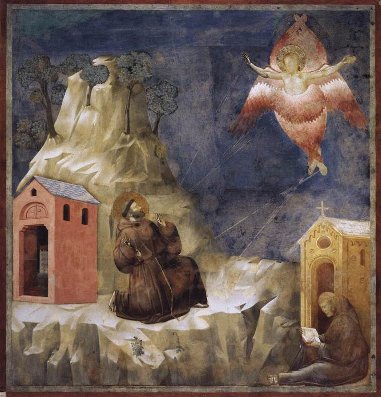 St. Francis receiving the Stigmata