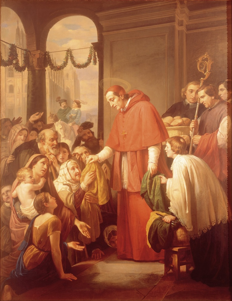 St. Charles Borromeo - José Salomé Pina