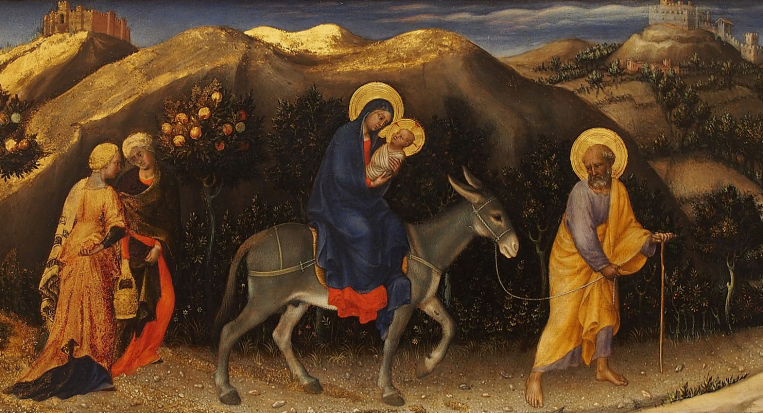 Holy Family - flight to egypt 04