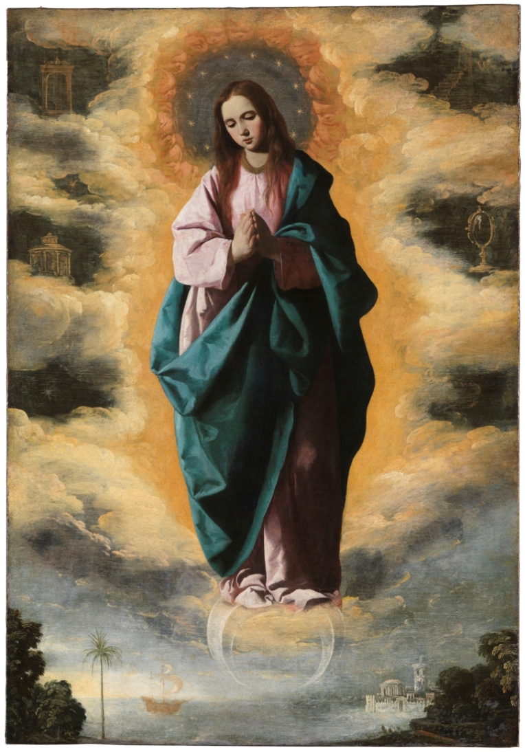 Immaculate Conception - Francisco de Zurbarcan