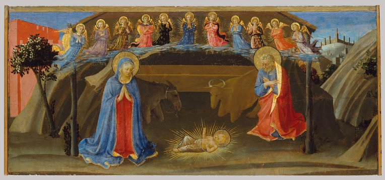 Nativity Fra Angelico 2