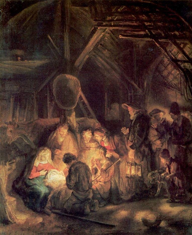 Nativity - Rembrandt