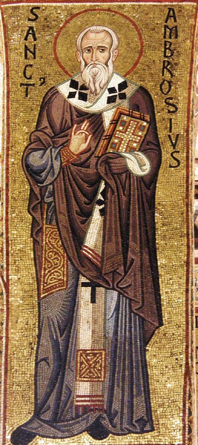 St. Ambrose mosaic
