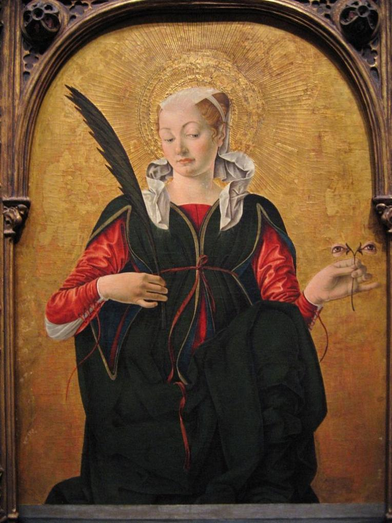 St. Lucy - Francesco del Cossa