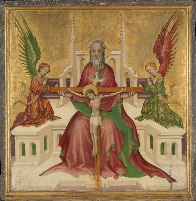 Trinity with Crucifixion