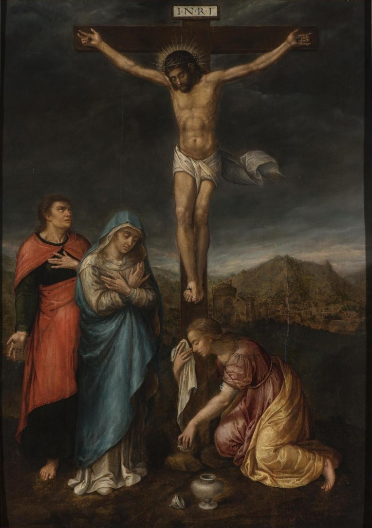 Crucifixion with 3 CROPPED