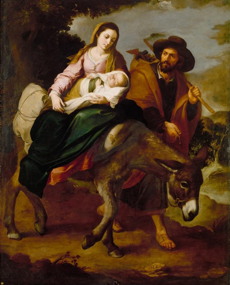 Holy Family - flight to egypt 05