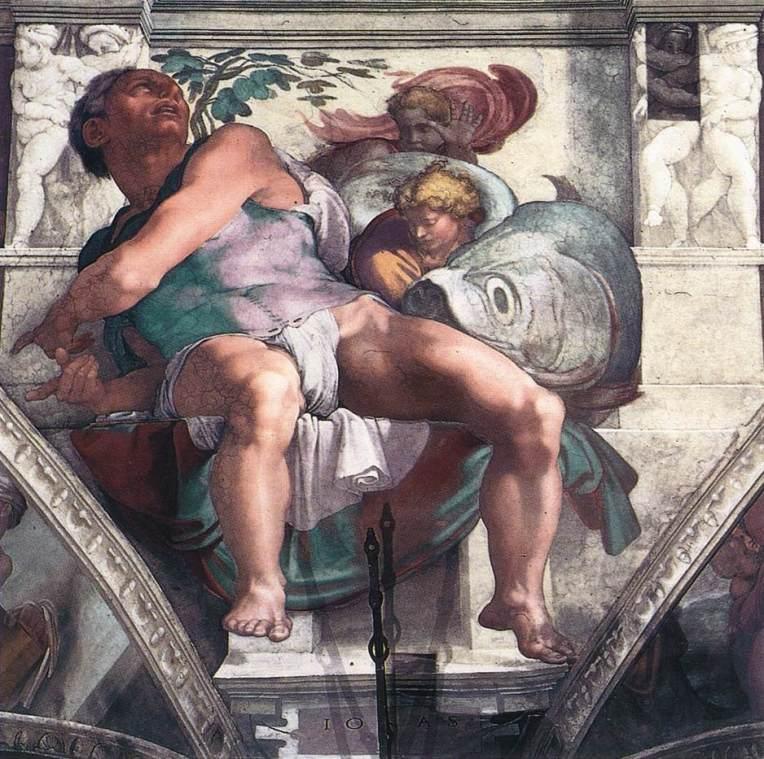 Jonah - Sistine Chapel