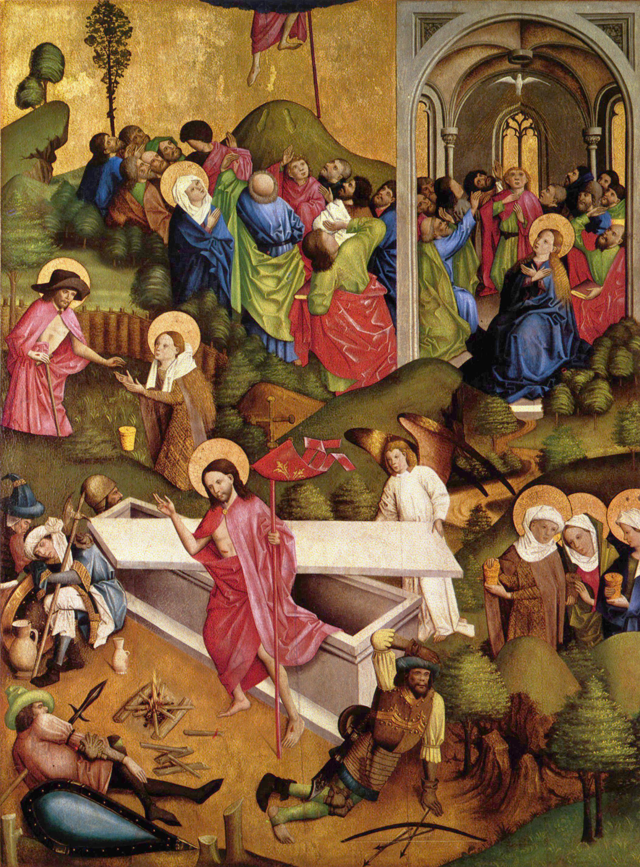 Resurrection appearances multiple