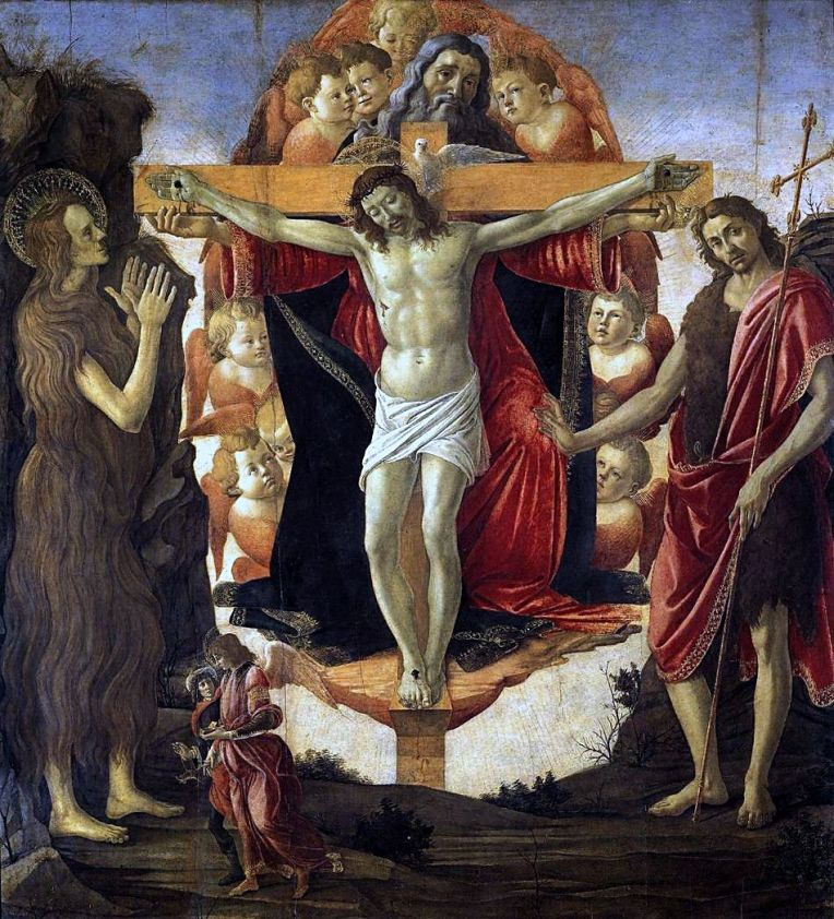 Easter 5-5 Trinity Botticelli