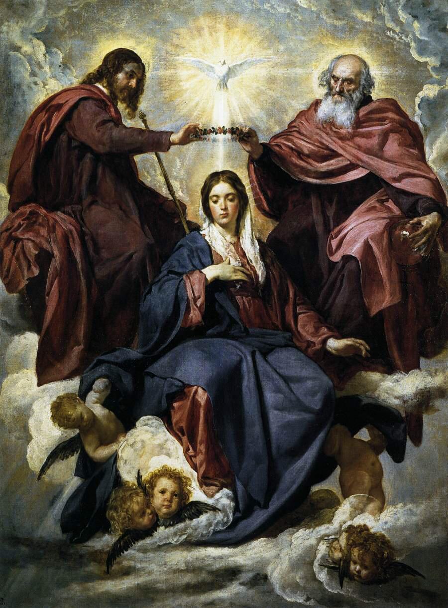 Easter 5-6 Mary Trinity
