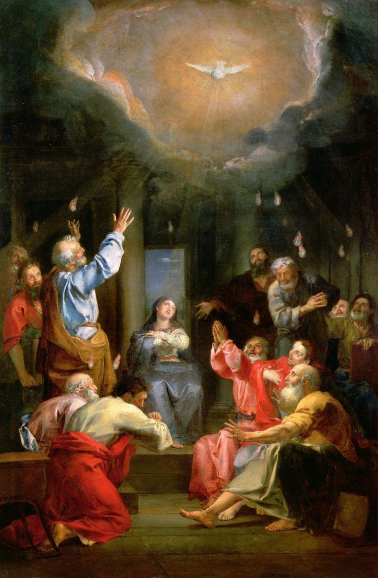 Pentecost - Louis Galloche