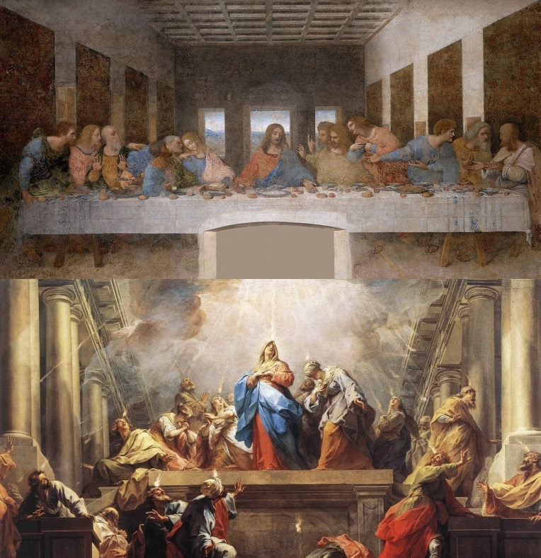 Last Supper and Pentecost