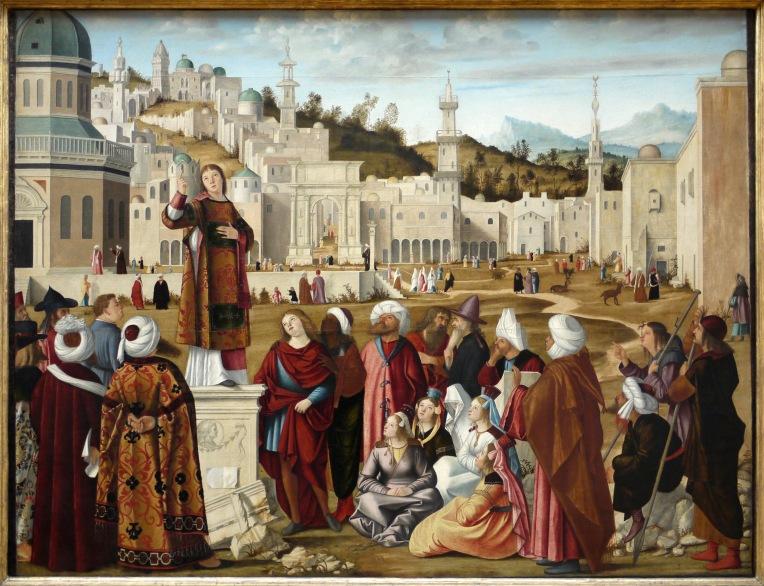 Preaching - La_Prédication_de_saint_Etienne_à_Jérusalem_de_Carpaccio