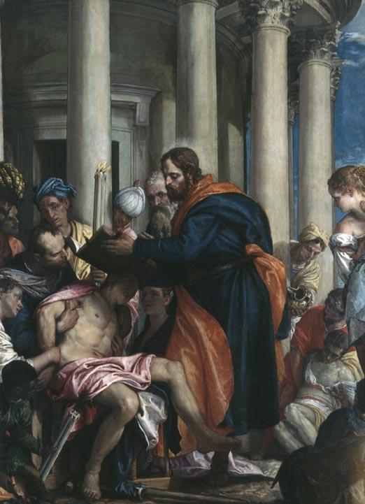 St. Barnabas healing the sick 2