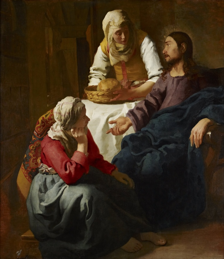 Sts. Martha and Mary - Vermeer LARGE