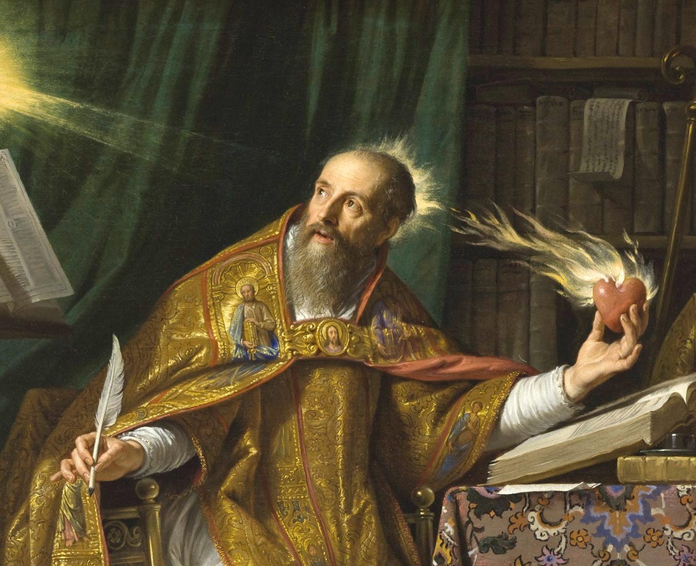 St. Augustine - Philippe de Champaigne